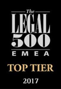EMEA Top Tier Firms 2017